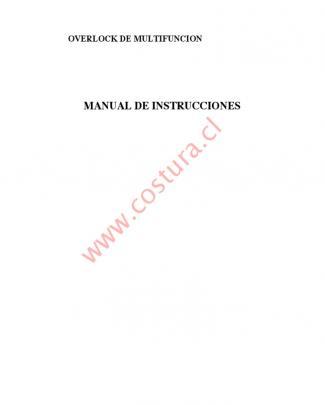 Overlock Bsq Mod 14u-854 2888x2814x1661 Manual