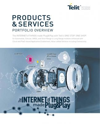 Telit Products And Services Overview Portfolio