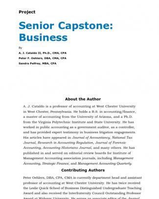 Senior Capstone