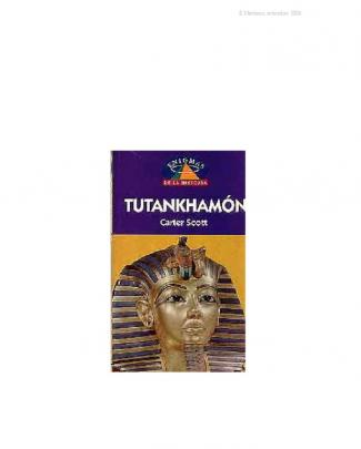 Scott, Carter - Tutankhamon