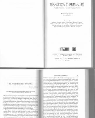 Juridificar La Bioetica (manuel Atienza)