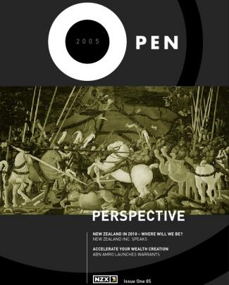 """Nzx Open Magazine, Issue One 2005 - """"perspective"""""""