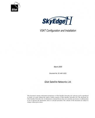 Skyedge Ii Vsat Configuration And Installation_0309