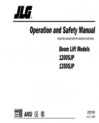 Manual Operador 1350sjp