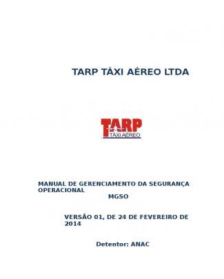 Mgso Tarp Táxi Aéreo Ltda - Rv 01