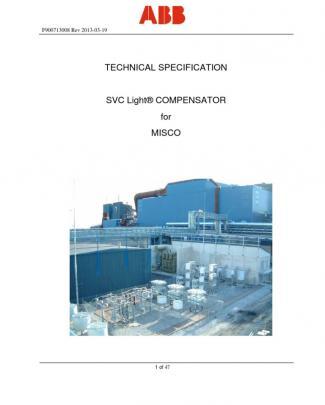 F900713008 Technical Specification_ Light Rev 2013-03-19