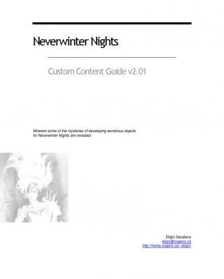 Custom Content V2_01 Nwn