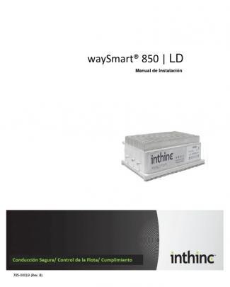 Manual De Instalación Inthinc Ws850 L