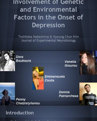 Genetic Factors In The Onset Of Depression