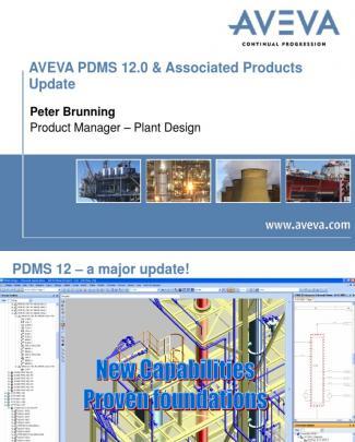 Pdms Update Aveva