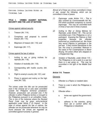 136242857 Revised Ortega Lecture Notes On Criminal Law 2 1