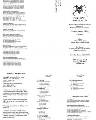 Green Prize List