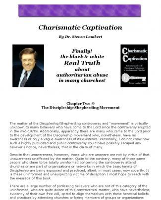 Charismatic Captivation By Dr Steven Lambert