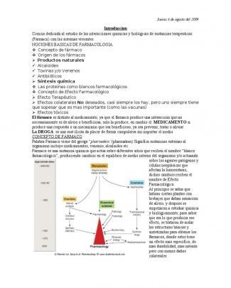 Clases De Farmacología Unab Tecnologia Medica