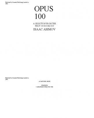 Opus 100_isaac Asimov