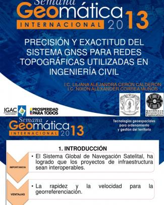 Precisión Y Exactitud Del Sistema Gnss Para Redes Topográficas Utilizadas En Ingeniería Civil