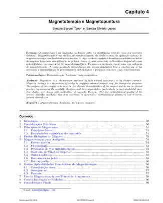 Magnetoterapia E Magnetopuntura