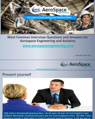 Interview Questions And Answers For Aerospace Engineering And Aviation