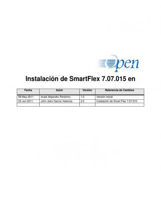 Guia Instalación Smartflex 7 07 15