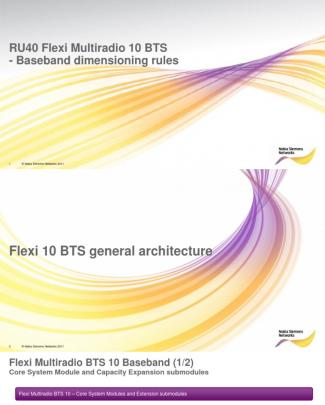 Flexi Multiradio 10 Bts Dimensioning Share