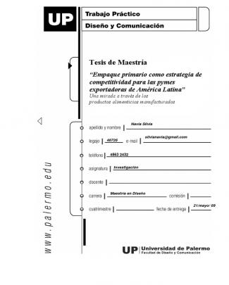 Empaque Primario Como Estrategia De Competitividad Para Las Pymes Exportadoras De América Latina
