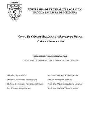 Apostila Aulas Praticas Farmaco Unifesp