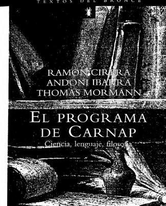 Hegselmann, Rainer [la Concepción Científica Del Mundo, El Círculo De Viena; Un Balance]