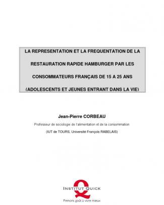 Rapport Jp Corbeau Etude De Institut Quick