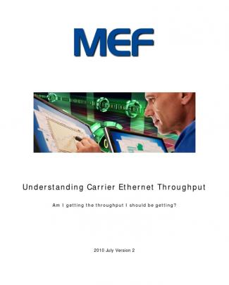 Understanding Carrier Ethernet Throughput - V14