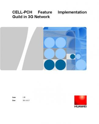 Cell Pch Feature Implementation Guild In 3g Network