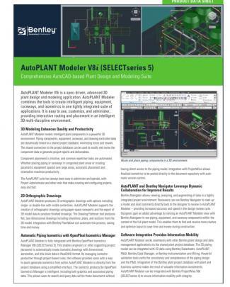 Autoplant Modeler