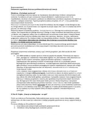 Notatki Z Literatury - Konwersatorium T. Czub