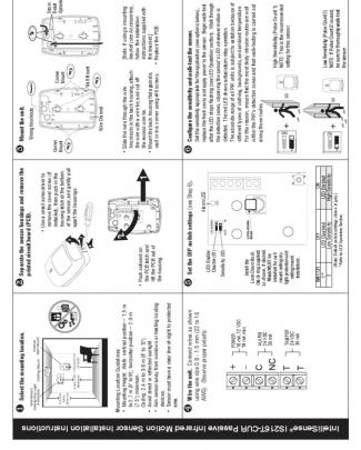 Honeywell Is216t Cur Install Guide