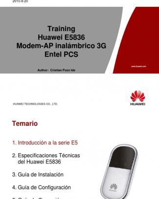 =huawei E5836 Training Entelpcs