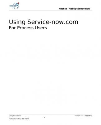 Using Service-now Manual (v 2.x).doc