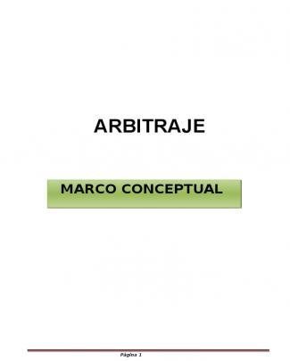 Arbitraje Informacion