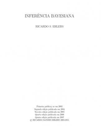 Apostila Inferência Bayesiana - Ricardo Ehlers