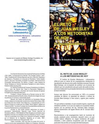 Reto De Juan Wesley A Los Metodistas De Hoy