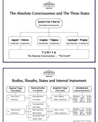 Advaita 18 Diagrams Combined