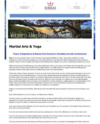 8 Jubilee Resources Martial Arts & Yoga