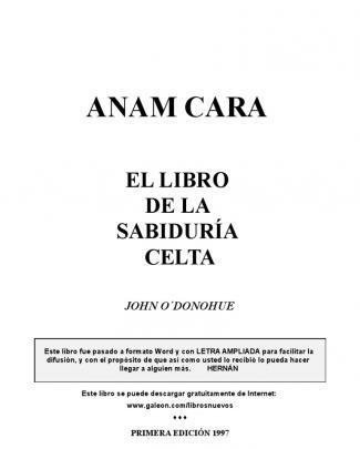 El Libro De La Sabiduria Celta