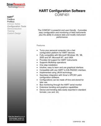 Hart Configurator Interface Conf401
