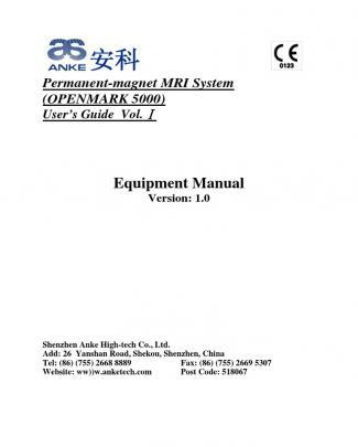 Openmark 5000 User Manual