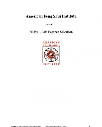 Fs360 - Life Partner Selection