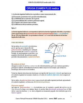 Cirugia Exam I De Plus Medica