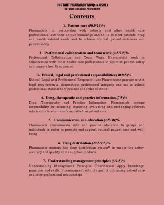 Medspan's  Pharmacy Guide For Osce