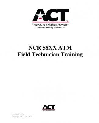Training Manual Sample Ncr 58xx