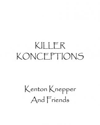 (cold Reading) - Knepper, Kenton - Killer Konceptionsxcvcx