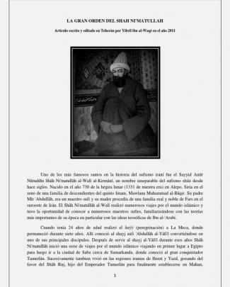 La Gran Orden Del Shah Ni'matullah