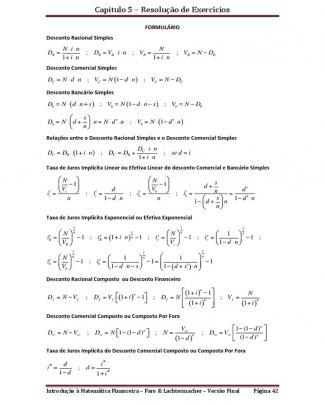 Capas-material De Apoio Introd Mat Financeira-exercicios Resolvidos Cap 5